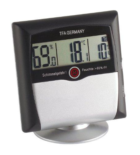 TFA Dostmann Comfort Control digitales Thermo-Hygrometer,...
