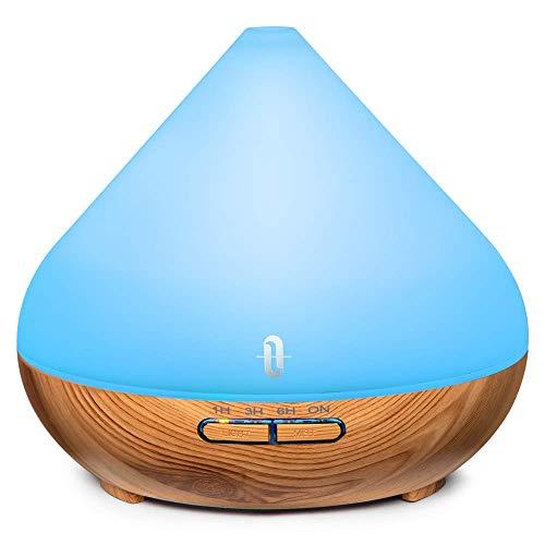 Aroma Diffuser 300ml TaoTronics Ultraschall Luftbefeuchter Diffusor Duftlampen BPA-Free Aromatherapie Humidifier für ätherische öle Raumbefeuchter für Kinderzimmer...