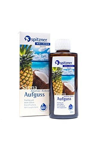 Spitzner Saunaaufguss Wellness Ananas-Kokos (190ml) Konzentrat