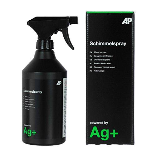Ag+ Schimmelspray/Schimmelentferner, chlorfrei, mit Aktivsauerstoff-Sofortwirkung und Ag+-Langzeitwirkung (600 ml)