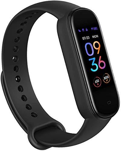 Amazfit Smartwatch Band 5 Fitness Tracker Armband mit integrierter Alexa, 15 Tagen Akkulaufzeit, Blutsauerstoff, Herzfrequenz, Schlafüberwachung, Digitale uhr für Sport,...