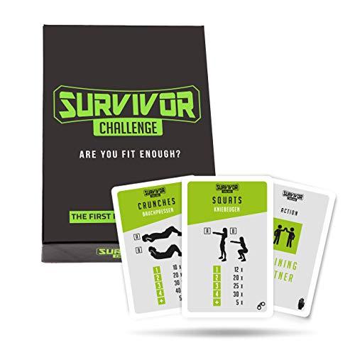 Survivor Challenge I Fitness-Kartenspiel I Spielerisch fit I...