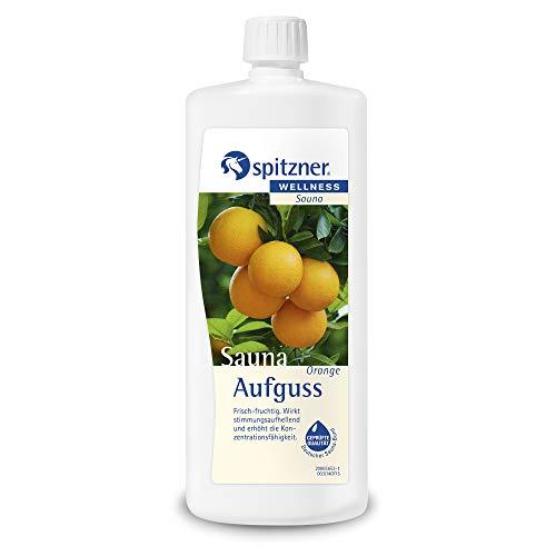 Spitzner Saunaaufguss Orange frisch-fruchtig 1000 ml –...