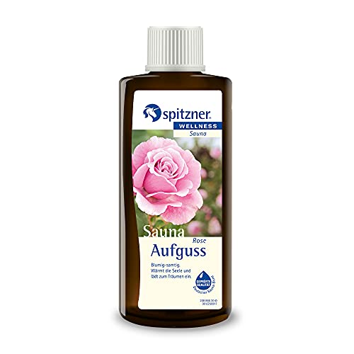 Spitzner Saunaaufguss Rose blumig-samtig 190 ml – Sauna...