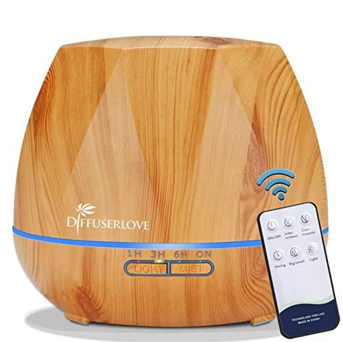 Diffuserlove Luftbefeuchter 550ML diffuser Aroma diffuser...