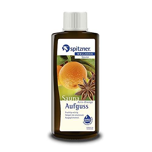 Spitzner Saunaaufguss Wellness Anis-Orange (190ml) Konzentrat