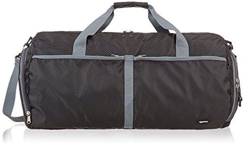 Amazon Basics - Reisetasche, leicht verstaubar, 59 cm, 64 l