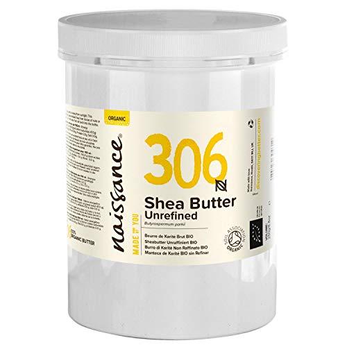 Naissance Sheabutter BIO (Nr. 306) 1kg (1000g) - rein und natürlich, unraffiniert, BIO zertifiziert, handgeknetet, vegan & parfümfrei - ethisch und nachhaltig hergestellt...