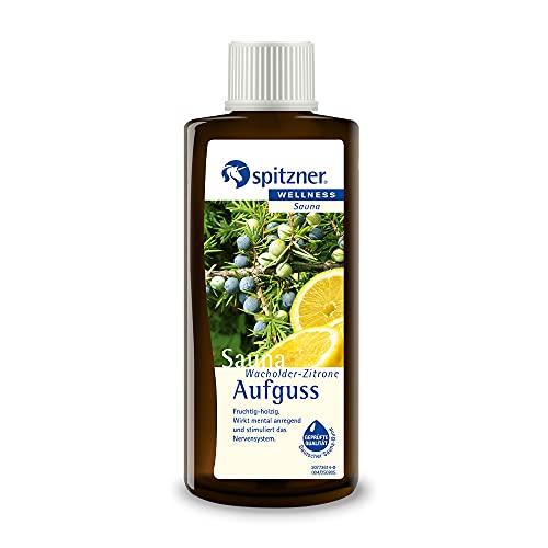 Spitzner Saunaaufguss Wacholder-Zitrone fruchtig-holzig 190...