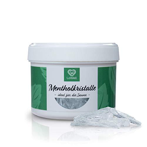 LoWell® 40g Mentholkristalle aus 100% reiner Minze - Ideal...