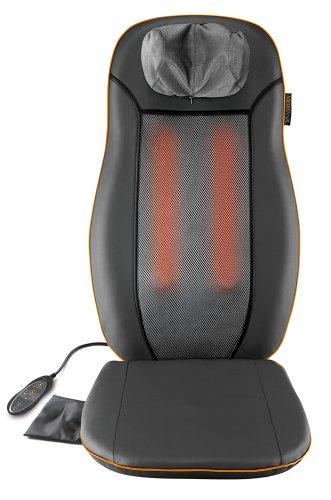 Medisana MCN Shiatsu Massageauflage, Massagesitzauflage mit 3 Massagezonen, Wärmefunktion, Rotlichtfunktion,...