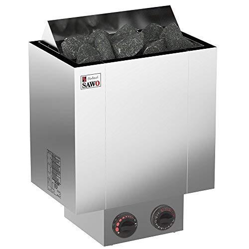 SAWO NORDEX 2017 Elektrische Saunaofen, Leistungsbereich: 4,5 kW; 6,0 kW; 8,0 kW; 9,0 kW; mit integrierte Steuerung (NB-Modell); Multispannung: entweder Einphasig oder...
