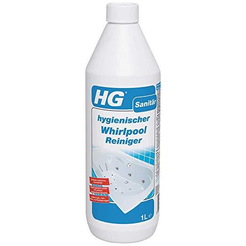 HG hygienischer Whirlpool Reiniger 1L – ist ein Whirlpoolreiniger, der hygienisch reinigt und üblen Gerüchen entgegenwirkt