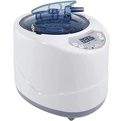 HHJY Tragbarer Sauna Dampfer, 2L Dampferzeuger Mit Fernbedienung, Timer Anzeige Edelstahltopf, Saunazubehör, Whirlpool Maschine Für Body Detox