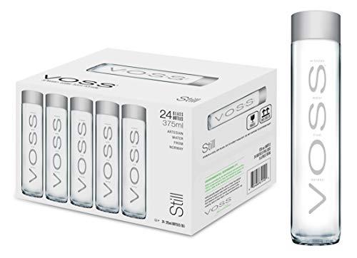 VOSS Water Still 375 ml, natürliches Mineralwasser, 24er...