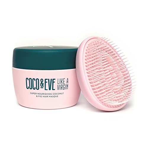 Coco & Eve Like a Virgin Haarmaske - Reichhaltige Haarmaske mit Kokosnuss & Feige - tiefenwirksame Pflege für dein Haar 212ml