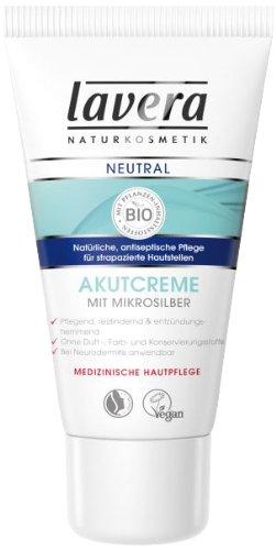 lavera Neutral Akutcreme mit Mikrosilber Strapazierte Haut...