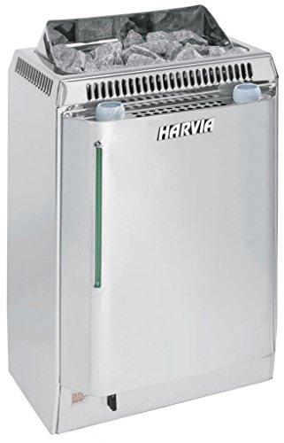 Harvia Topclass Saunaofen mit Verdampfer - KV50SE 5,0 kW wird separates Steuergerät benötig, Edelstahl