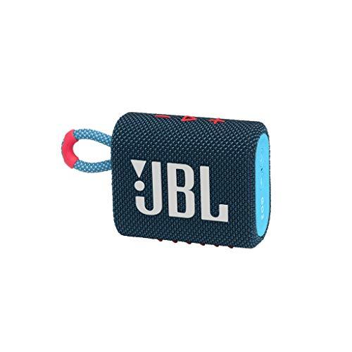 JBL GO 3 kleine Bluetooth Box in Blau und Pink –...
