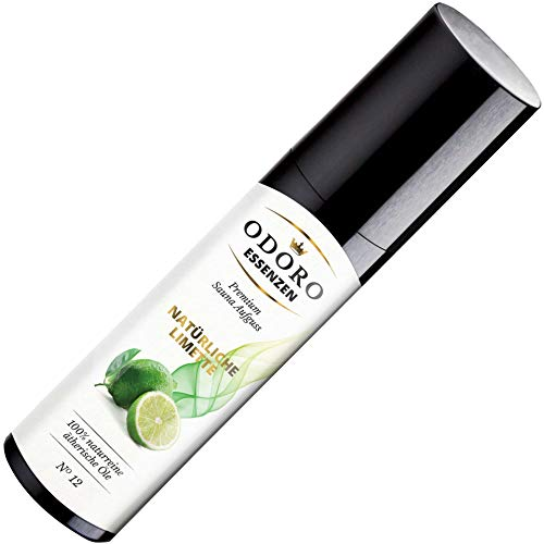 Saunaaufguss Duft Natürliche Limette – 100% ätherische Öle – Premium Aufguss Konzentrat (100ml) – Natur Aufgussmittel, naturreine Saunaaufgüsse