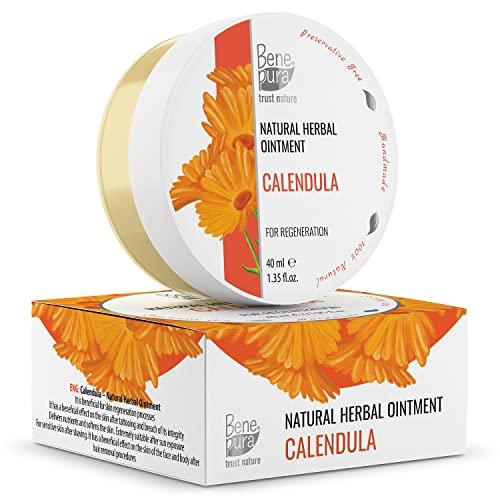 Natürliche Ringelblumen Salbe 40ml, kaltgepresstes Öl...