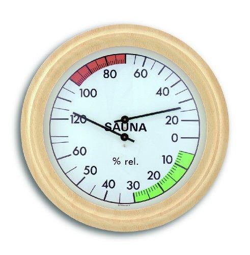 TFA Dostmann Analoges Sauna-Thermo-Hygrometer, mit...