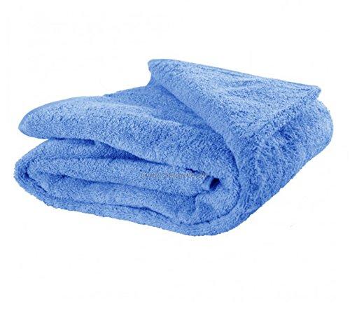 FelAWie XXL Strandtuch – Handtuch in Übergröße in der Farbe hellblau