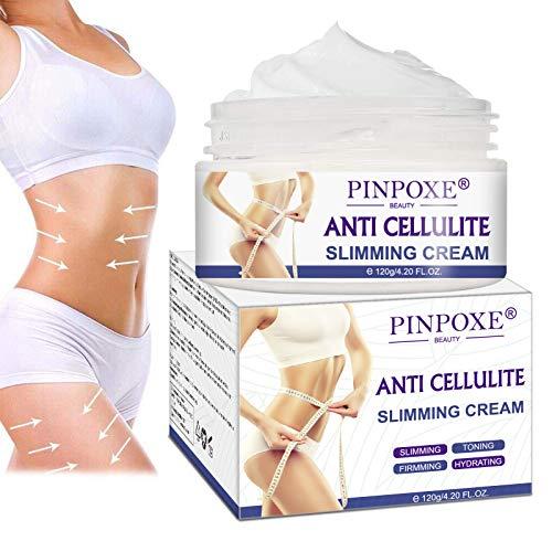 Cellulite Creme, Straffende Crème, Anti Cellulite, Hot Cream aktiviert die Haut zur Verbesserung der Hautkontur,zur optimalen Aufnahme der Wirkstoffe,Hilfe Bei Orangenhaut...