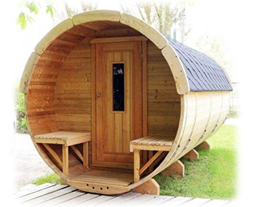 Finnische Sauna Fass-Sauna für bis zu 8Personen Fass für...