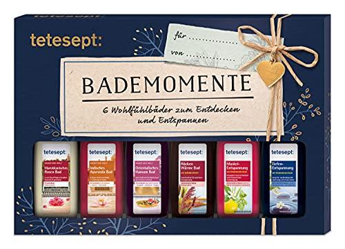 tetesept Bäder Geschenkset Bademomente – Badezusatz...