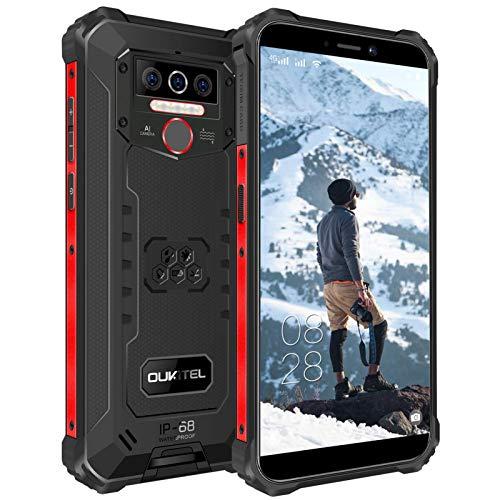 OUKITEL WP5 Outdoor Smartphone Ohne Vertrag, 4G Outdoor...