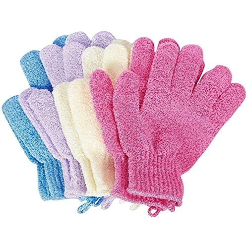 Peeling-Handschuhe von Juvale (4 Paar) - Zur Hautpflege,...