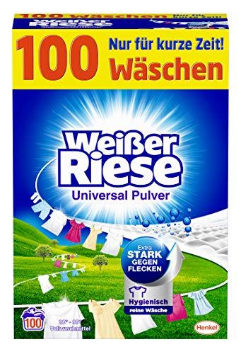 Weißer Riese Universal Pulver (100 Waschladungen),...