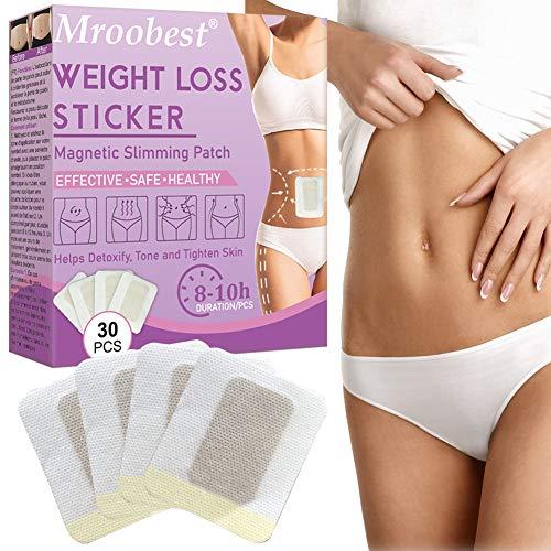 Slimming Patch,Weight Loss Sticker, Abnehmen Patch, Fettverbrennung Slim Patch, Anti Cellulite & Fat Burning Quick Slimming Patch für Bierbauch, Eimer Taille, Bauchfett...