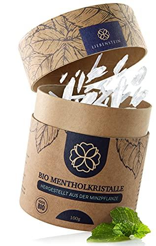 Liebenstein® Bio Mentholkristalle Sauna [100g] –...