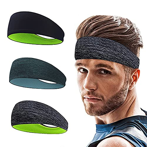 Roysmart Sport Stirnband, Schweißband Anti Rutsch für...