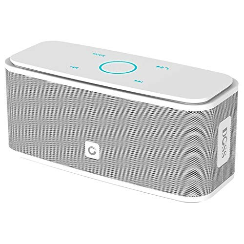 DOSS SoundBox Bluetooth Lautsprecher Kabellose Portabler 12W Touch Lautsprecher mit 12-Stunden Spielzeit & Dual-Treiber Wireless Speakers mit TF Karte, Mikrofon und Reinem...