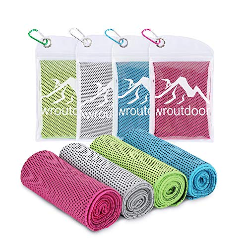 Awroutdoor Cooling Towel, Kühlendes Handtuch Set Sofortige...