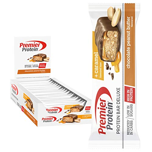 Premier Protein Bar Deluxe Chocolate Peanut Butter 18x50g -...