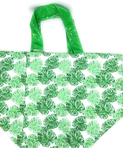 topteam Strandtasche grün Natural Touch Badetasche Saunatasche groß