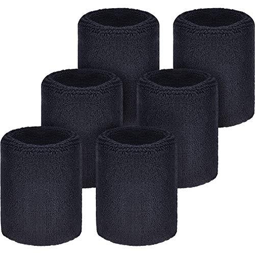 WILLBOND Schweißbänder Armbänder für Fußball Basketball...
