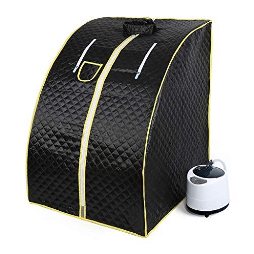 PB FLY Mobile Mini-Dampf-Sauna - Home Dampf Sauna Beheizte Sauna Zimmer Home Entgiftung Schweißzimmer Home Sauna Box Begasste Eimer Dampferdampfer Sweat Box (72 * 84 * 100...