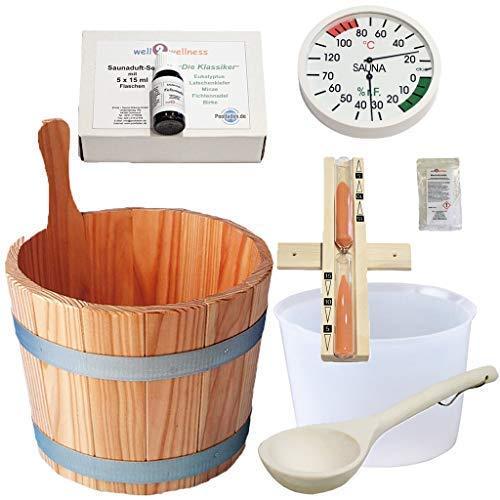 SudoreWell® Sauna Starter Set 3 / Saunazubehör Set...