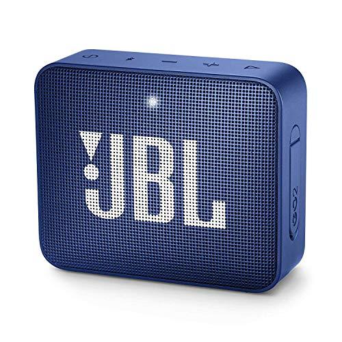 JBL GO 2 kleine Musikbox in Blau – Wasserfester, portabler...