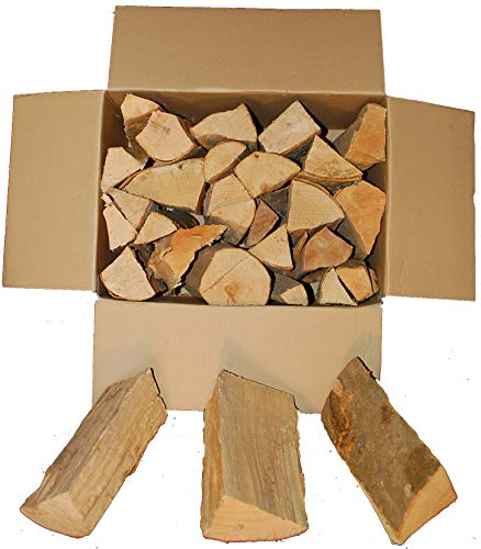 BUCHE Kaminholz, Brennholz 20Kg -gut zu tragen-, Feuerholz,...