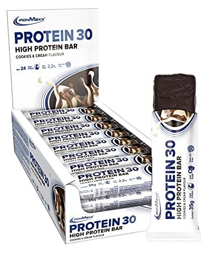 IronMaxx Protein 30 Proteinriegel, Geschmack Cookies and...