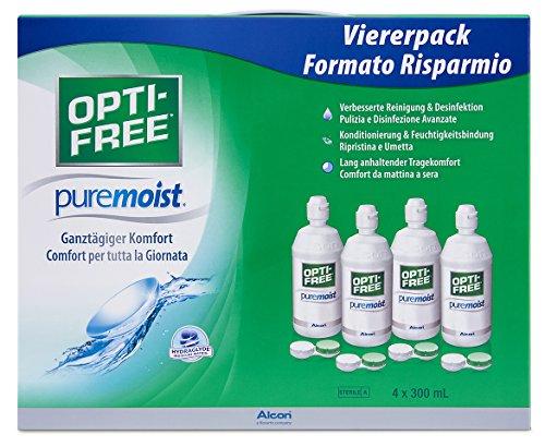 Opti-Free PureMoist Kontaktlinsen-Pflegemittel, Systempack,...