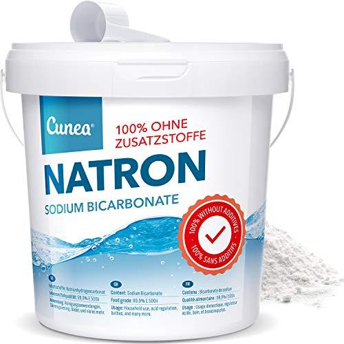 Natron Pulver 4,5 kg in Lebensmittelqualität inkl....