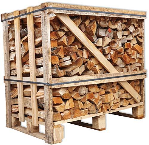 Brennholz Buche 25cm trocken + UNION Kaminbriketts Gratis Kaminholz ofenfertig Ofen Holz Feuerholz Scheitholz Kaminfeuer Lagerfeuer Pizzaofen 1RM Box=ca.1,2...