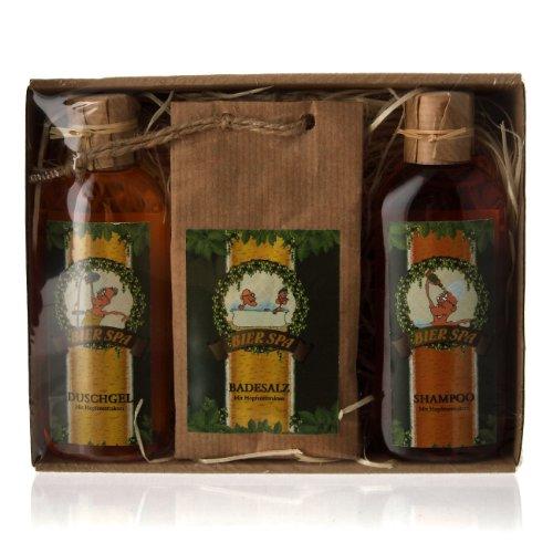 Lustapotheke® kleines Geschenkset für Männer 'Bier Spa'...
